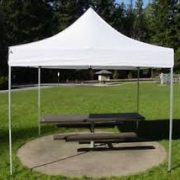 Tente blanche Easy-Up 10' X 10' blanc