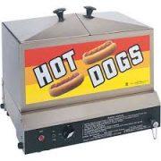 Vapeur à hot-dog électrique 110V