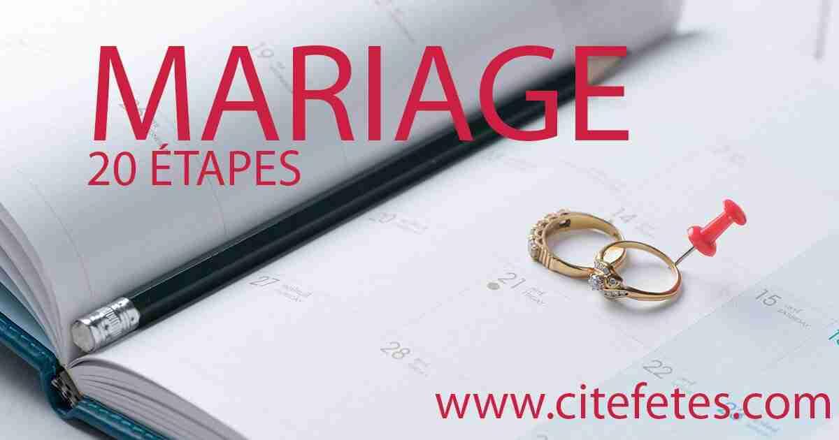 Deux anneaux sur un agenda Planification pour un mariage réussi